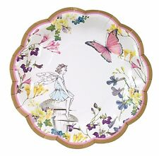 Fairy Theme Party Plates x 12 - Talking Tables - Truly Fairy Range