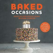 Baked Occasions: Desserts for Leisure Activities, Holidays, and Inform-ExLibrary