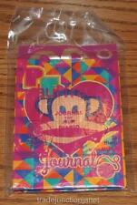 "MIP 2014 LE PAUL FRANK #6 ""JOURNAL"" McDONALD'S HAPPY MEAL TOY"