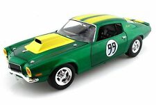 "CHEVROLET 1970 CAMARO 350 ""COOTERS"" #99 DUKES OF HAZZARD GREEN/YELLOW 1.18 SCALE"