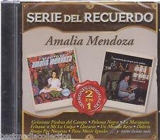 SEALED - Amalia Mendoza CD NEW Serie Del Recuerdo 22 Tracks BRAND NEW