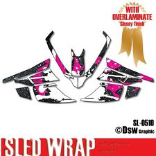 SLED GRAPHIC KIT DECAL WRAP FOR ARCTIC CAT Z1 F8 F6 F5 F SERIES 2007-2012 SL0510