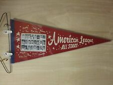 1965 All Star Pennant Mickey Mantle Brooks Robinson ROOKIE Picture RARE!