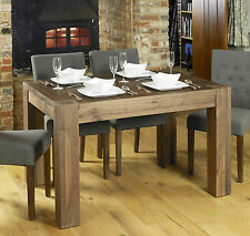 Shiro solid walnut home dining room furniture four seater dining table