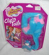 #6497 NRFC Vintage Kenner Furrever Friends Clip'N Tails Kitten Blue
