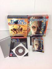 Homeworld & Homeworld 2 (PC, 2003) Sierra Big Box Bundle Complete excellent