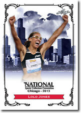 LOLO JONES - 2013 Leaf National Convention PROMO Olympic Track & Field Card