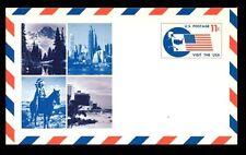 Estados Unidos 1967 11 quater, visita los Estados Unidos, Papelería Tarjeta Postal Sin Usar #c 7534