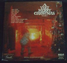 A VERY MERRY CHRISTMAS LP Album Volume V - Vinyl  1971 RCA Records PRS-343