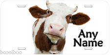 Young Cow Novelty Aluminum Any Name Personalized Car Auto License Plate P07