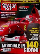 Autosprint 29 2002 Alfa battuta si lamenta. Montoya scrive ai lettori. Ferrari