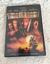 Pirates of the Caribbean: The Curse of the Black Pearl (DVD, 2003, 2-Disc Set, S