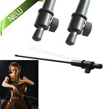 Brand New Strong Black Carbon Fiber Cello Endpin 3/4 & 4/4 Cello Tailpiece End