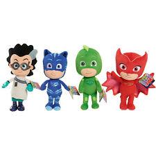 4Pcs PJ Masks Mini Stuffed Figure Plush Toys Gekko Catboy Owlette Romeo Set
