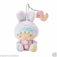 SANRIO LITTLE TWIN STARS KIKI EASTER EGG PLUSH DOLL KEYCHAIN 293733