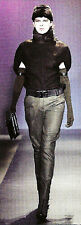 New Costume National Metallic Silver Space Age Pants Sold Out 38