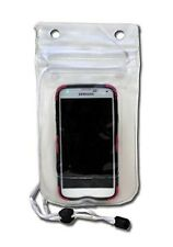 Eco Dry Pack Waterproof Double Sealed Clear Case iPhone 5 6 Samsung S5 Lanyard