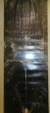 GENESIS POSTER RARE SEALED 2000 12 X 36 IN THE BEGINNING EARTH SUN STARS TREES