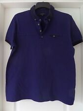 Mens Navy Blue Ted Baker T-shirt size S
