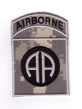 """82nd AIRBORNE DIVISION """"ACU Theater Made"""" (Fabrication Actuelle)"""