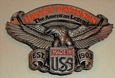 Harley-Davidson Belt Buckle The American Legend 1991 Baron