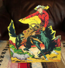"Red Ryder Western Cowboy Color Comic Tabletop Display Standee 9.5"" Tall"