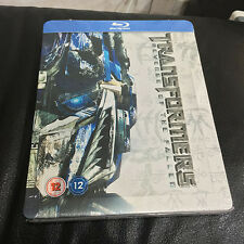 Transformers Revenge of the Fallen Blu-ray Steelbook | UK exclusive | NEW Sealed
