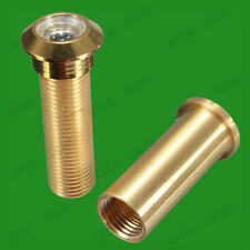 15mm Brass Security Door Viewer Spy Hole Peephole Adjustable 160 Degree