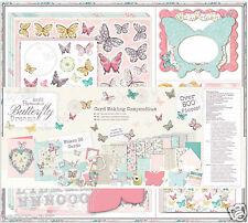 Docrafts FARFALLA SOGNI Card Making COMPENDIO ADESIVI DECOUPAGE francobolli cartoline