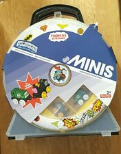 Thomas & Friends DC Super Friends Minis Carry Case with 2 mini engines-NEW SALE!