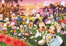 Tenyo Japan Jigsaw Puzzle DW-1000-361 Disney Hawaiian Wedding Dream(1000 Pieces)