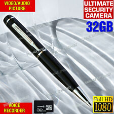 Wireless Security Camera Pen 1080P USB Flash Drive Voice Recorder No spy hidden