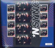 N'SYNC Justin Timberlake Commemorative Sheet #2695 MNH - St.Vincent E114