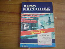REVUE TECHNIQUE auto expertise PEUGEOT 405 BREAK essence - diesel
