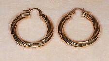 Boucles d'oreilles Créoles en Or jaune 18 Carats ou 750/1000ème