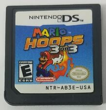 Mario Hoops 3 on 3 Nintendo DS Video Game No Case Game Only Tested and Works
