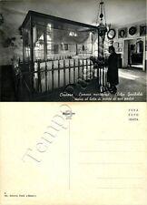 Cartolina di Caprera, camera mortuaria di Giuseppe Garibaldi - Olbia Tempio