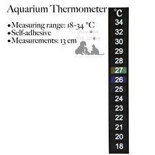 Peces de Acuario Auto-Adhesivo termómetro de medición rango: 18–34 ° C Autoadhesivo