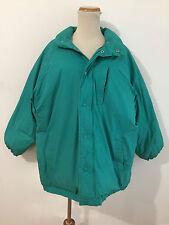 Silvercord Down Puffer Coat Jacket Aqua Green/Teal Size L (14-16)