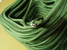 25 ft Vintage 2-Wire Flat/Parallel Cloth Covered Wire Antique Pendant Lamp Cord