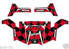 NG racing WRAP QUAD POLARIS RZRS RZR800S RZR 800 FLAG UTV RANGER 2011 - 2014