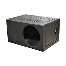 "Qpower QBOMB10VLSINGLE Single 10"" Qbomb Woofer Box"