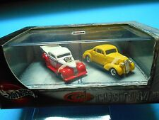 Hot Wheels 100 % 2 car set - Cool Custom - 1937 Chevy