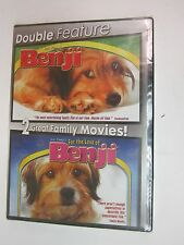 DOUBLE FEATURE - Benji 2-Pack (DVD, 2007)- Peter Breck - BRAND NEW  FACT SEALED