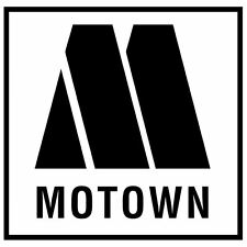 Motown record label  sticker X2 pair mod tamla northern soul scooter LI TV SX PK