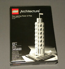 LEGO The Leaning Tower of Pisa 21015 Architecture Landmark Series Set Italy NEW