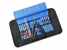 Set 1 Craft Model Hobby Tools Kit For Modellers & Jewellery Makers Roll Up Case