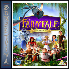 FAIRYTALE- STORY OF THE SEVEN DWARVES - Elvin Cameron  **BRAND NEW DVD ***