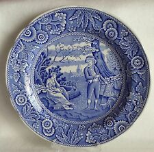 The Blue Room Collec. Scalloped Dinner Plate - 'WOODMAN'  Georgian by Spode