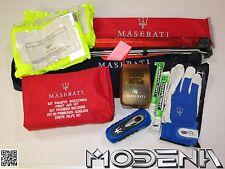 Maserati Erste-Hilfe Nothilfe Set Pannenset Warndreieck Breakdown Medical Kit